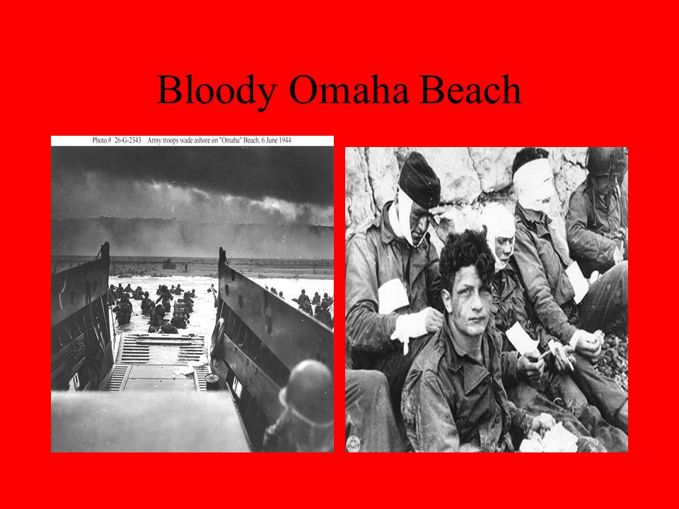 Bloody Omaha Beach