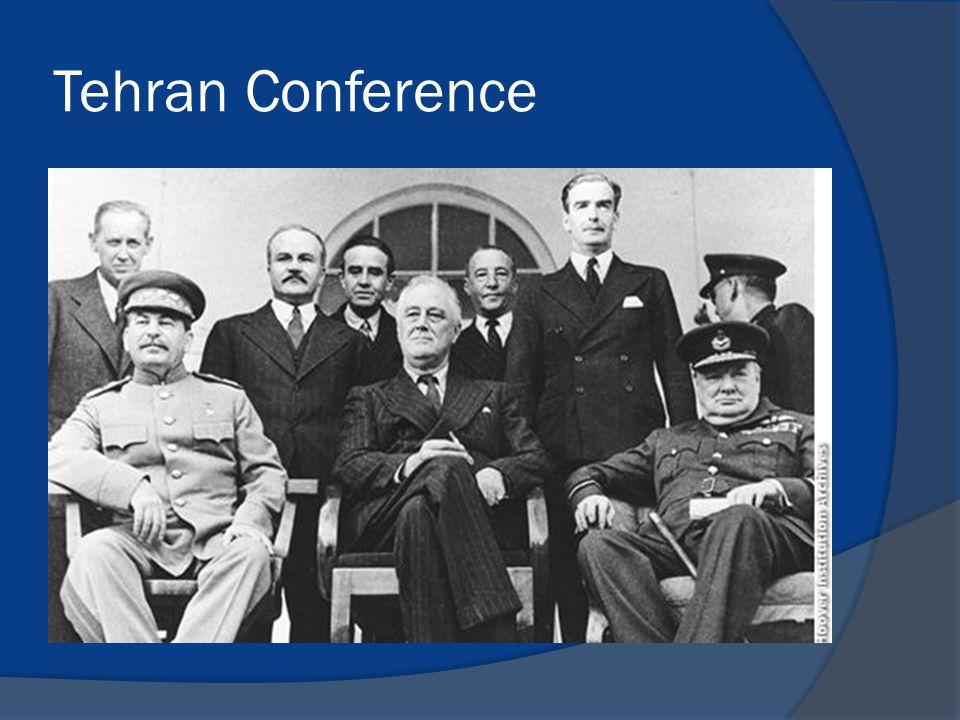Tehran Conference