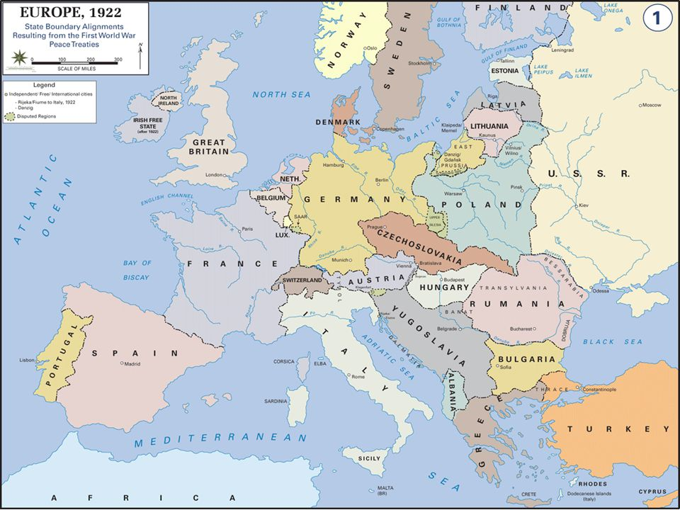 The Treaty Of Versailles The German Army was limited to 100,000 men Germany had to pay reparations to the allies Germany had to accept the War Guilt Clause (231) Germany lost 13% of its territories and all her colonies Created Yugoslavia and Czechoslovakia which were ethnically heterogeneous, and had substantial German pop.