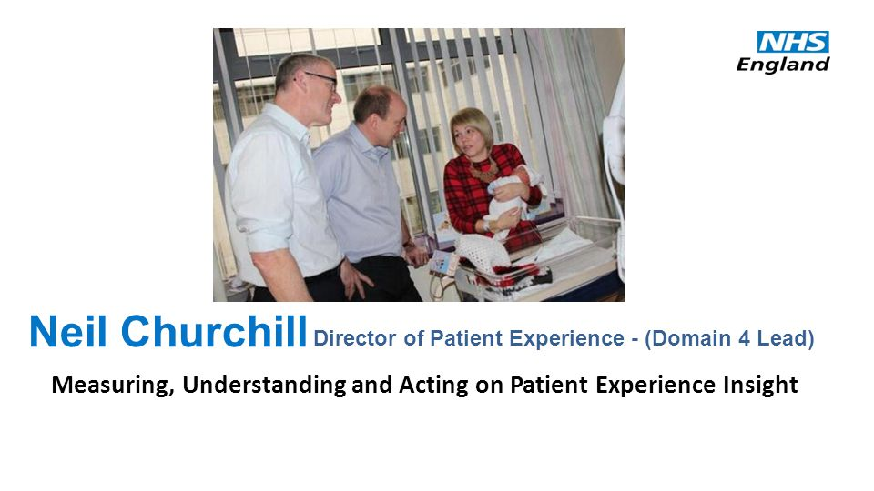 Why is insight into patient experience important.