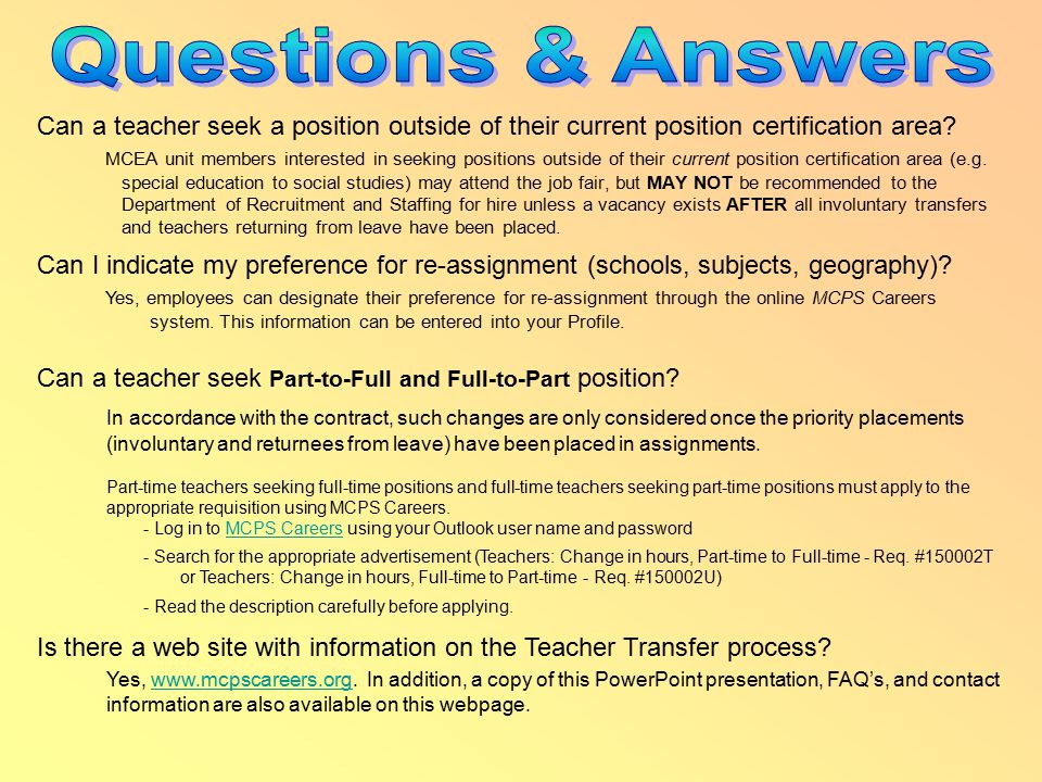 Can a teacher seek a position outside of their current position certification area.