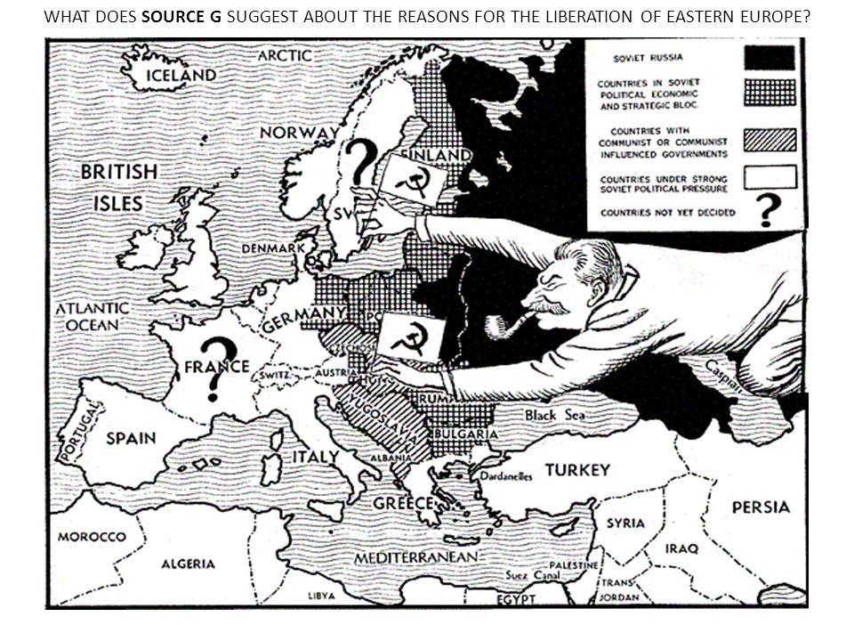 WHAT DOES SOURCE G SUGGEST ABOUT THE REASONS FOR THE LIBERATION OF EASTERN EUROPE?