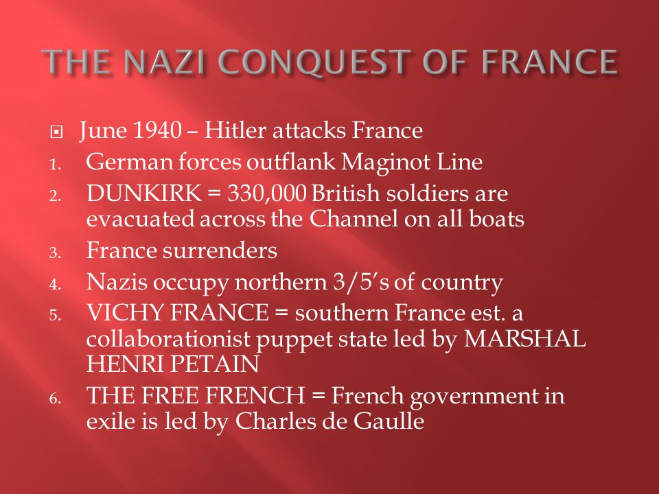 1.The Allied invasion of France 2. Organized by Eisenhower 3.