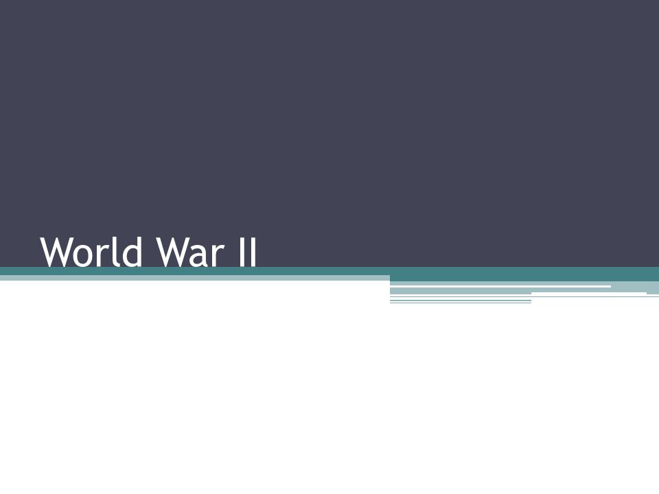 Franklin D.Roosevelt U.S. President President for most of WWII U.S.