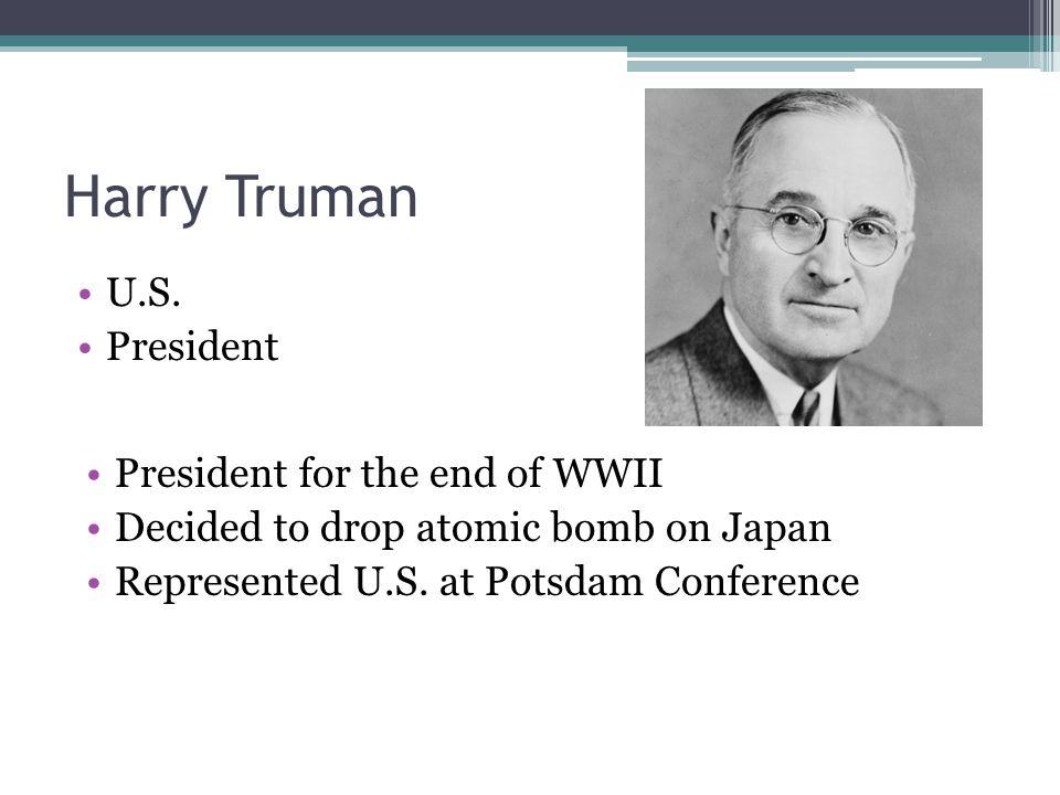 Harry Truman U.S.