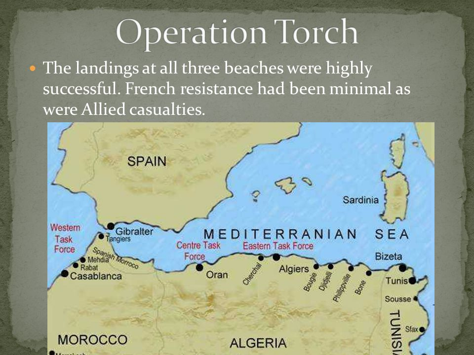 The landings at all three beaches were highly successful. French resistance had been minimal as were Allied casualties.