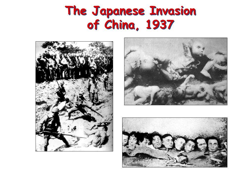 The Japanese Invasion of China, 1937