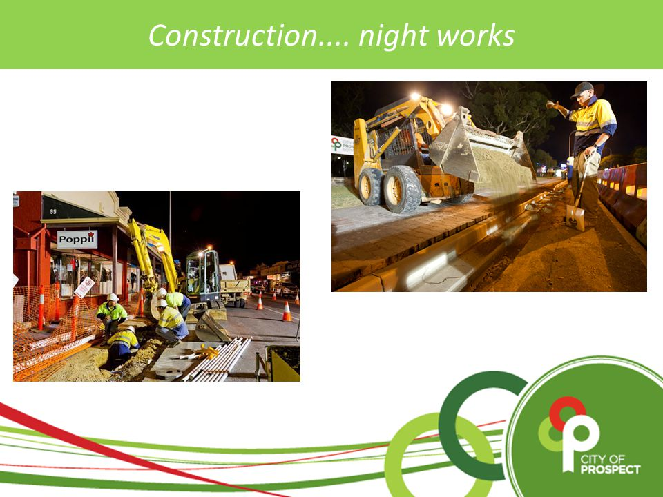 Construction.... night works