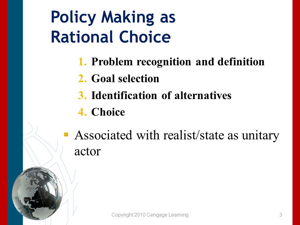 Factors Impacting Foreign Policy  System Level Factors Polarity Degree of concentration of military/economic power among major states Polarization How firmly minor states cluster around the major powers in alliances Geopolitics – Impact of geographic characteristics 4