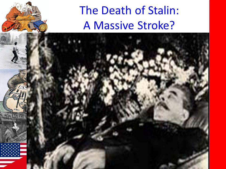 The Death of Stalin: A Massive Stroke?