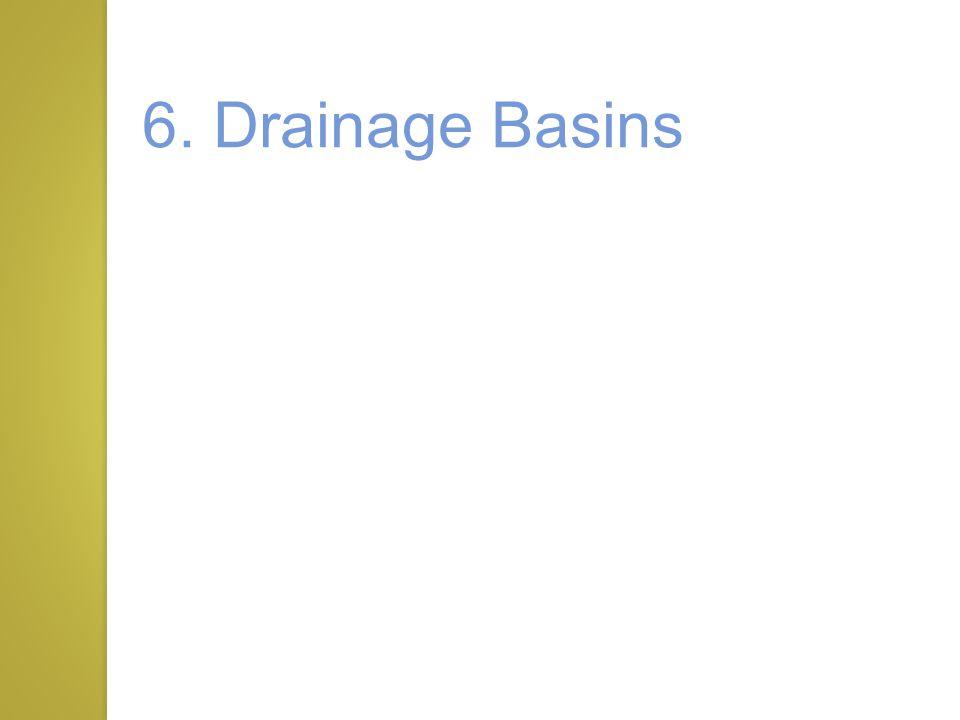 6. Drainage Basins