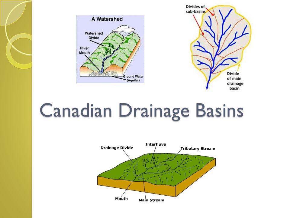 Canadian Drainage Basins