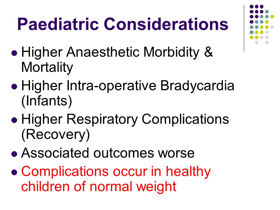 Paediatric Temperature Concerns Larger body surface area/kg Cold Theatre, IV fluids, Anaesthetic Gases Surgery > 1 hour (Wound Exposure) Hypothermia (Core Temperature < 36, infant ) Delayed awakening Cardiac Irritability (Poor Perfusion) Respiratory depression High Temperature is a LATE sign of MH