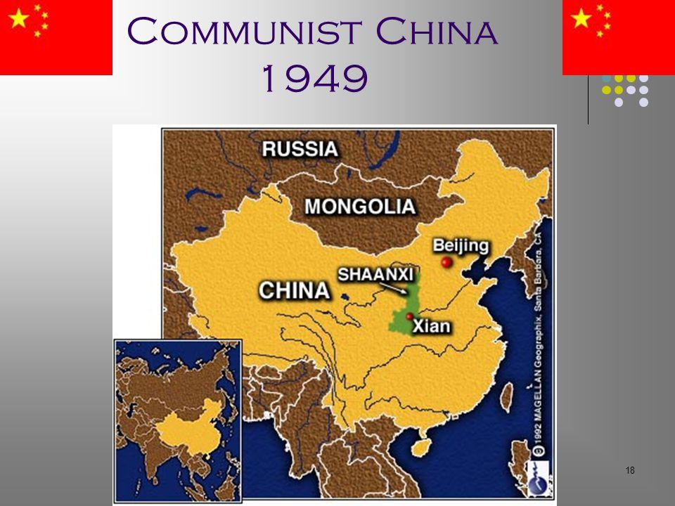 18 Communist China 1949