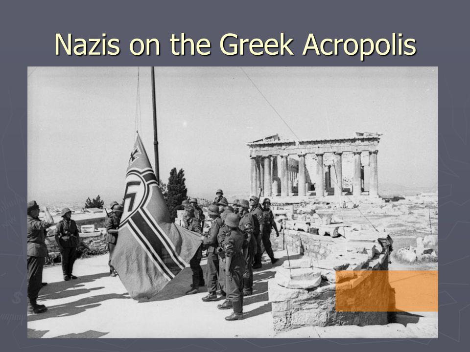 Nazis on the Greek Acropolis