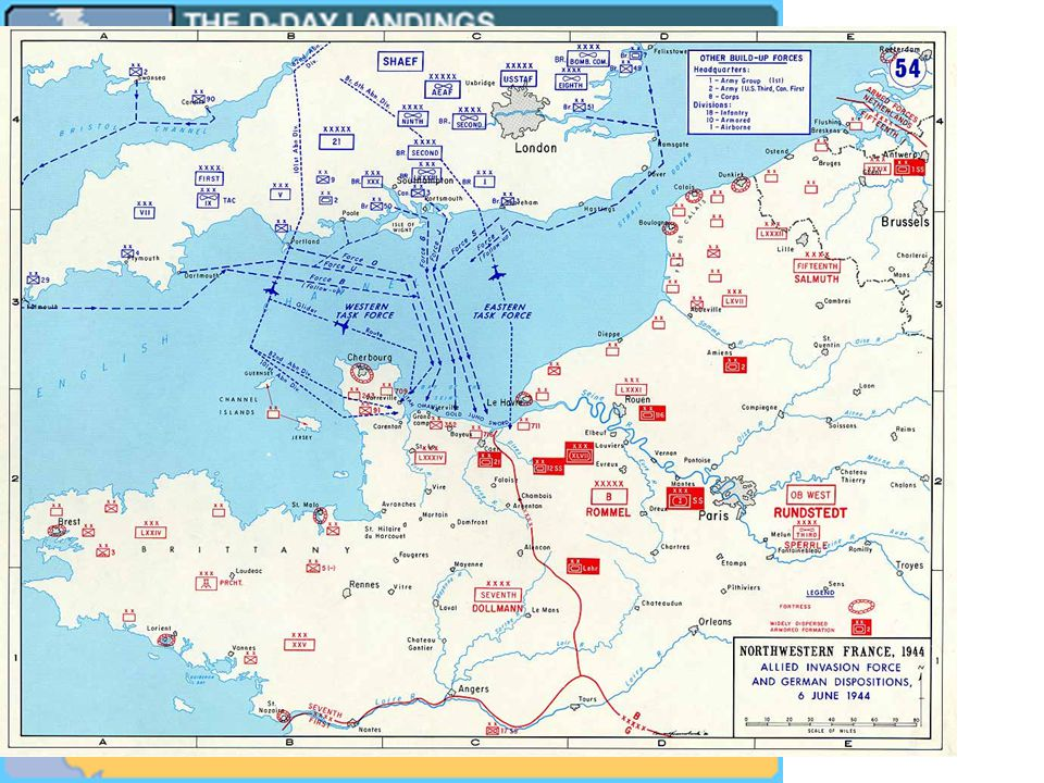 When Allies Attack France: D-Day - June 6, 1944 The Normandy Landings had two phases: – Air Assault landing of 24,000 (American, British, Canadian, Fr