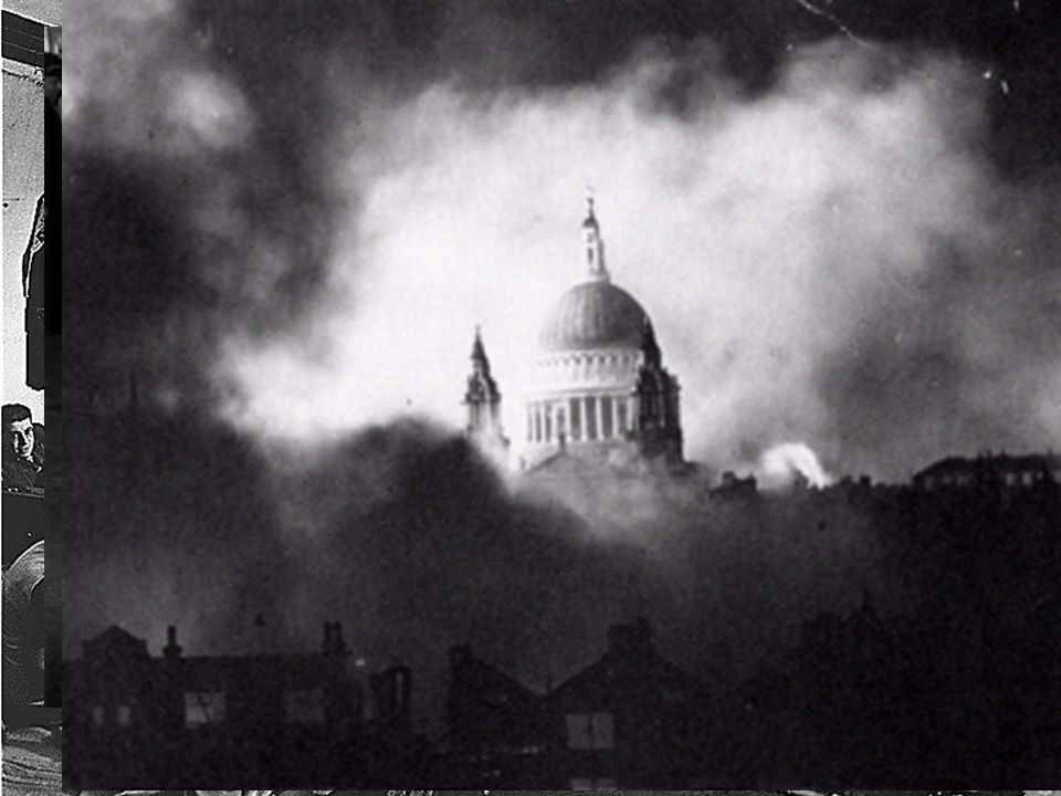 "Battle of Britain: London Blitz September 1940: Tactic changes  civilians ""London Blitz"": sustained bombing of Britain September 1940 and May 1941 –"