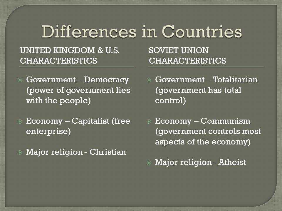 UNITED KINGDOM & U.S.