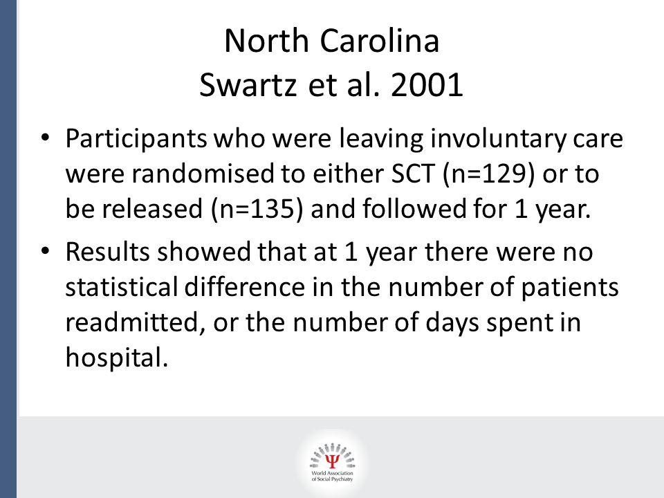 North Carolina Swartz et al.