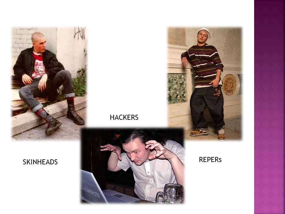 HACKERS SKINHEADS REPERs