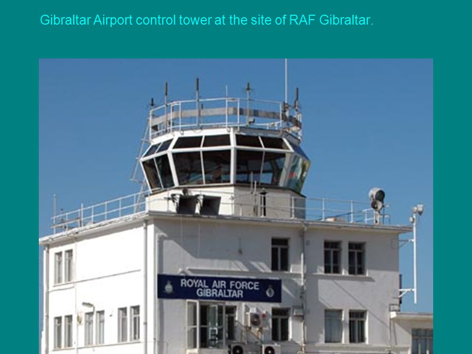 The Gibraltar airport runway runs straight through the main street!