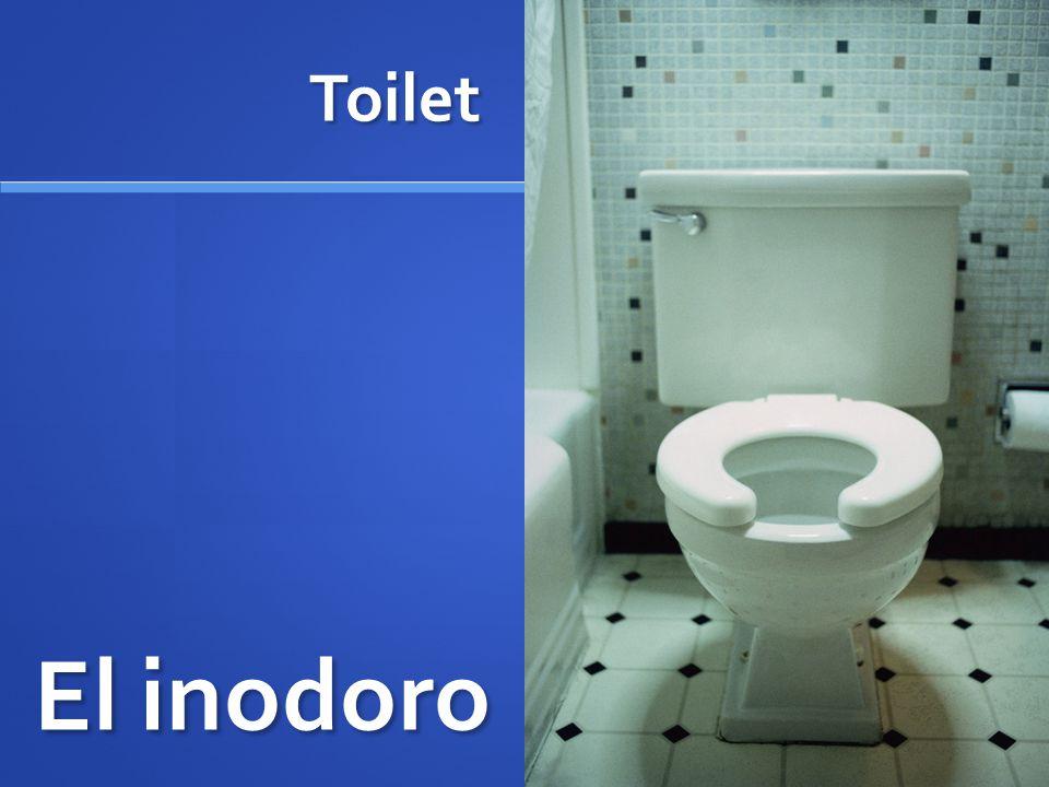 Toilet El inodoro