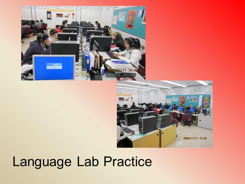 Language Lab Practice