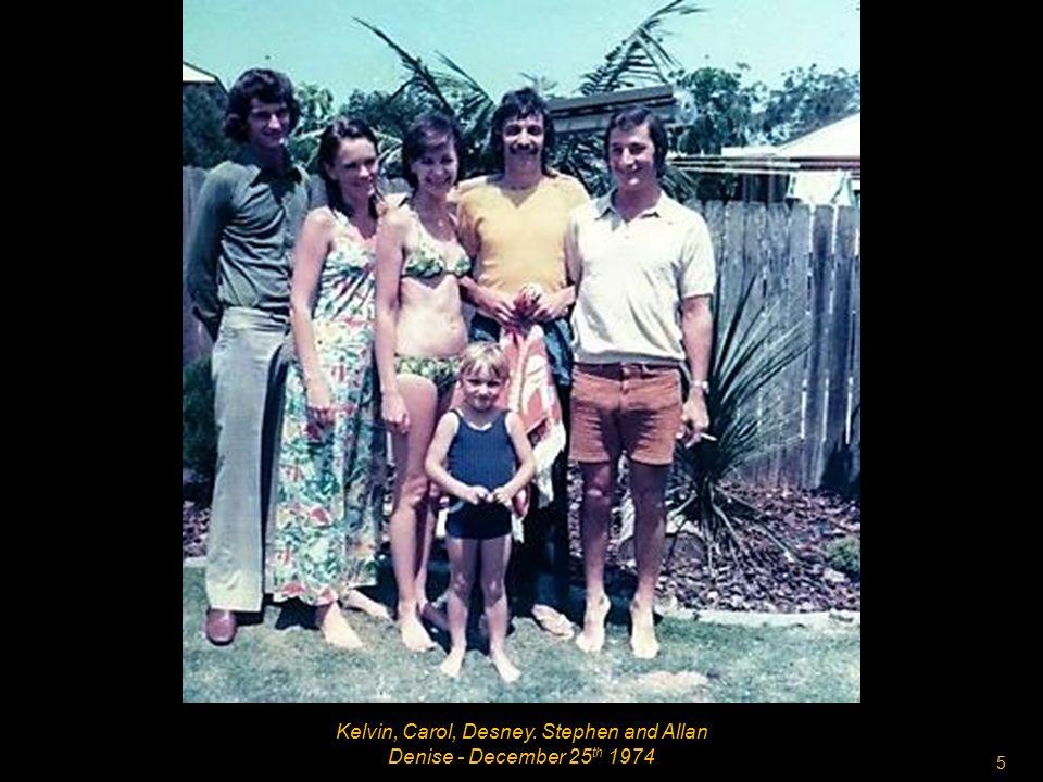 4 Michelle, Darren, Max and Kylie Gen - 1984