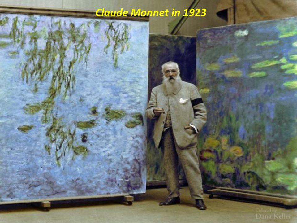 Claude Monnet in 1923