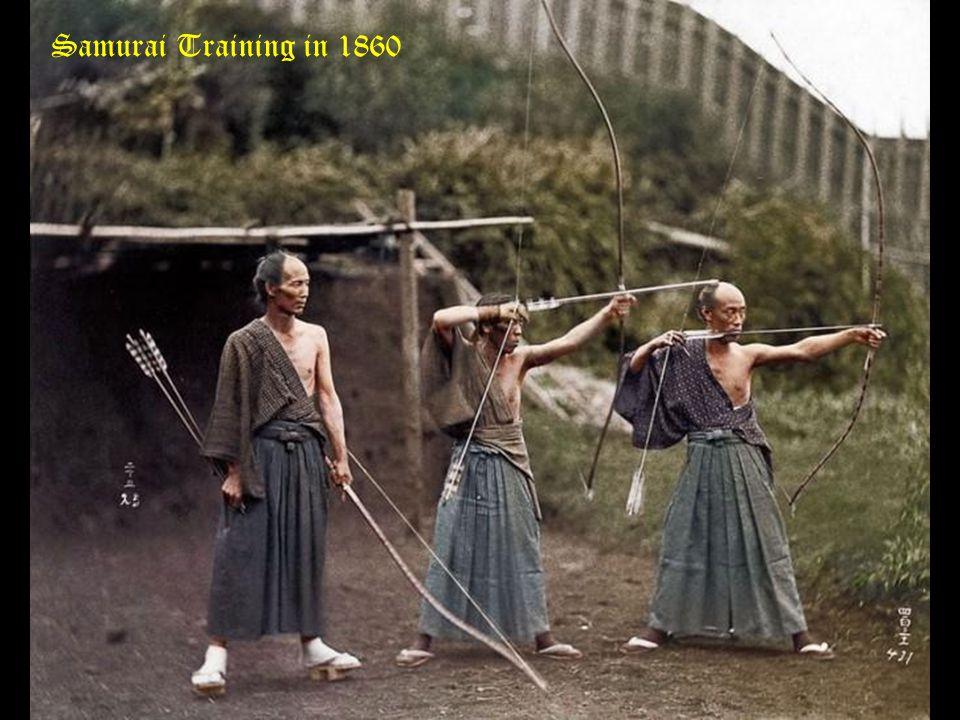 Samurai Training in 1860
