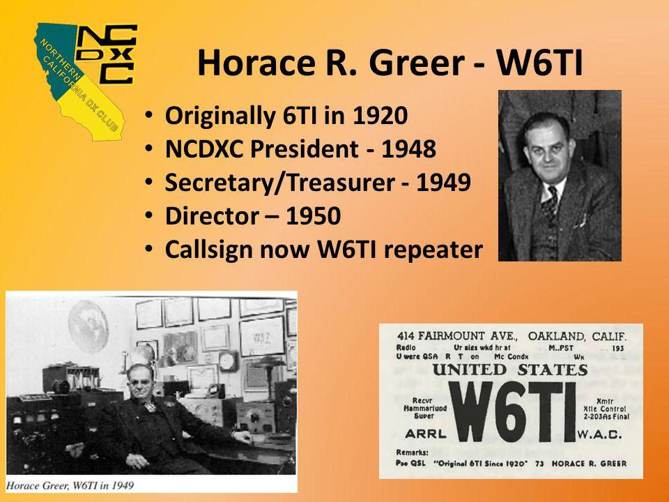 Horace R.