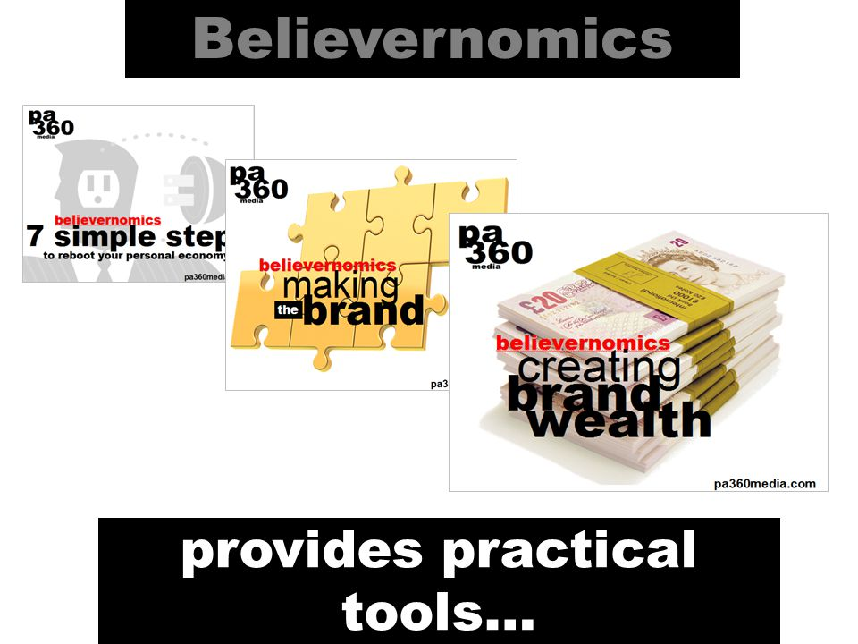 Believernomics provides practical tools…