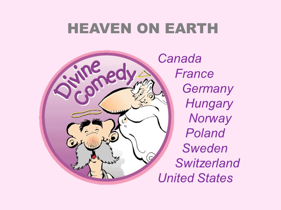 Although the stories take place in heaven, Divine Comedy is not about religion.