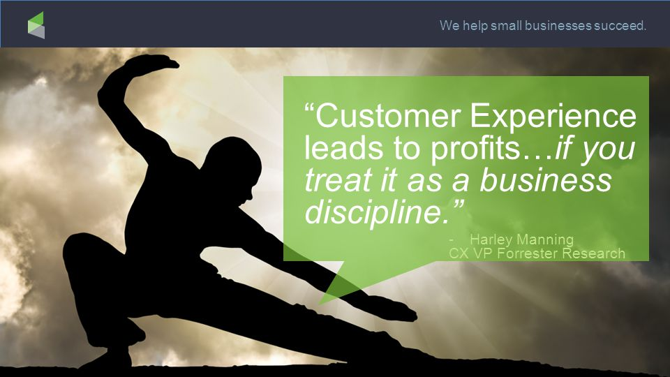 We help small businesses succeed.