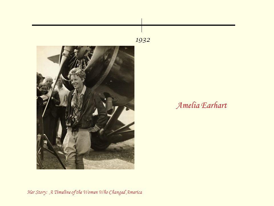 1932 Amelia Earhart