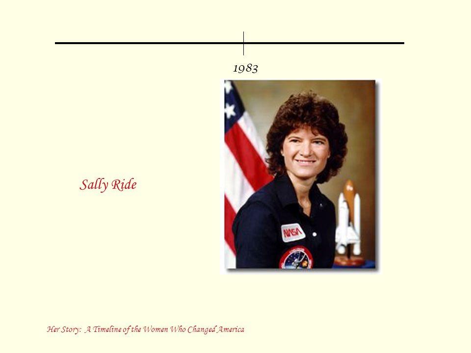 1983 Sally Ride