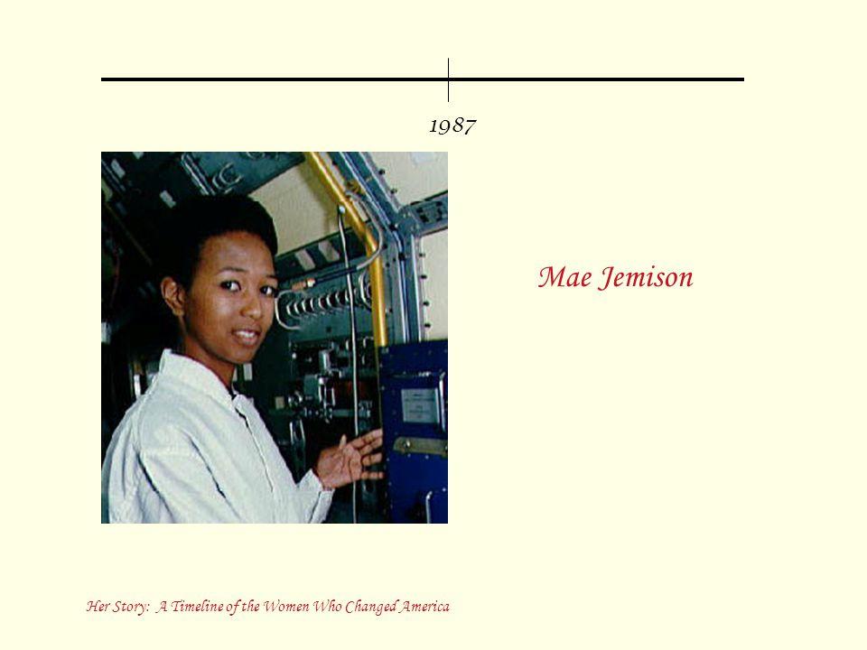1987 Mae Jemison