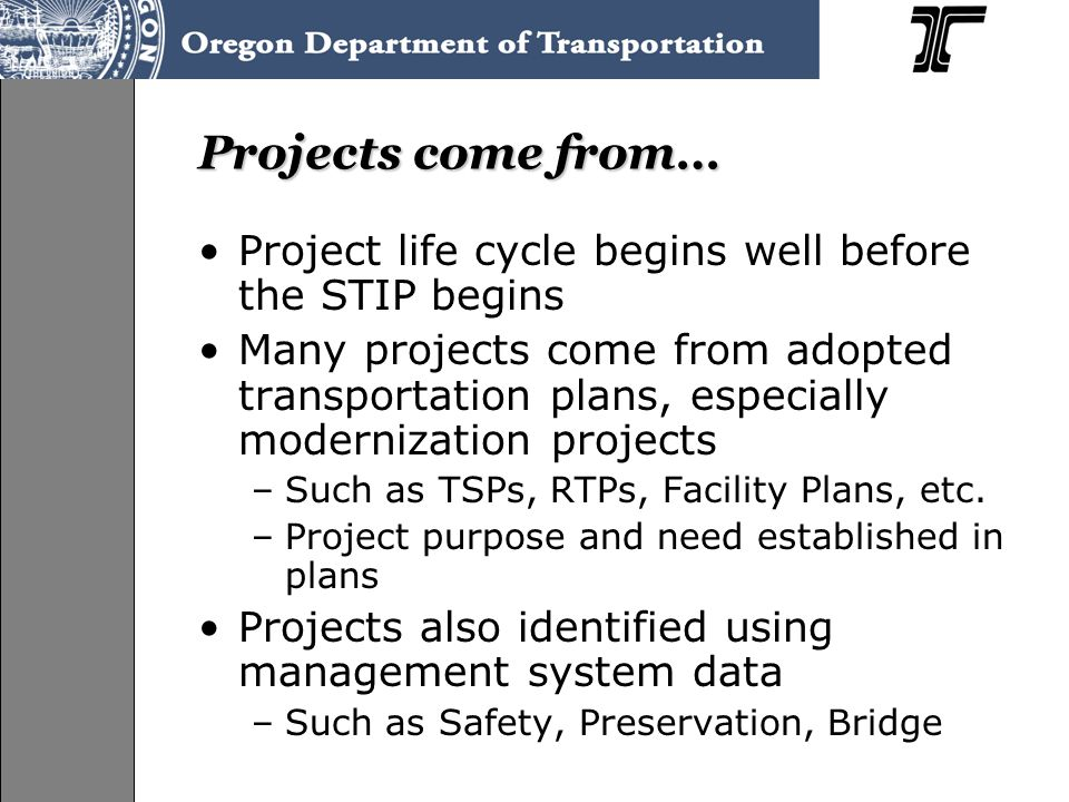 Contacts If you have questions you can contact: –Jerri Bohard 503-986-4165 Jerri.L.Bohard@odot.state.or.us –Lucia Ramirez 503-986-4168 Lucia.L.Ramirez@odot.state.or.us
