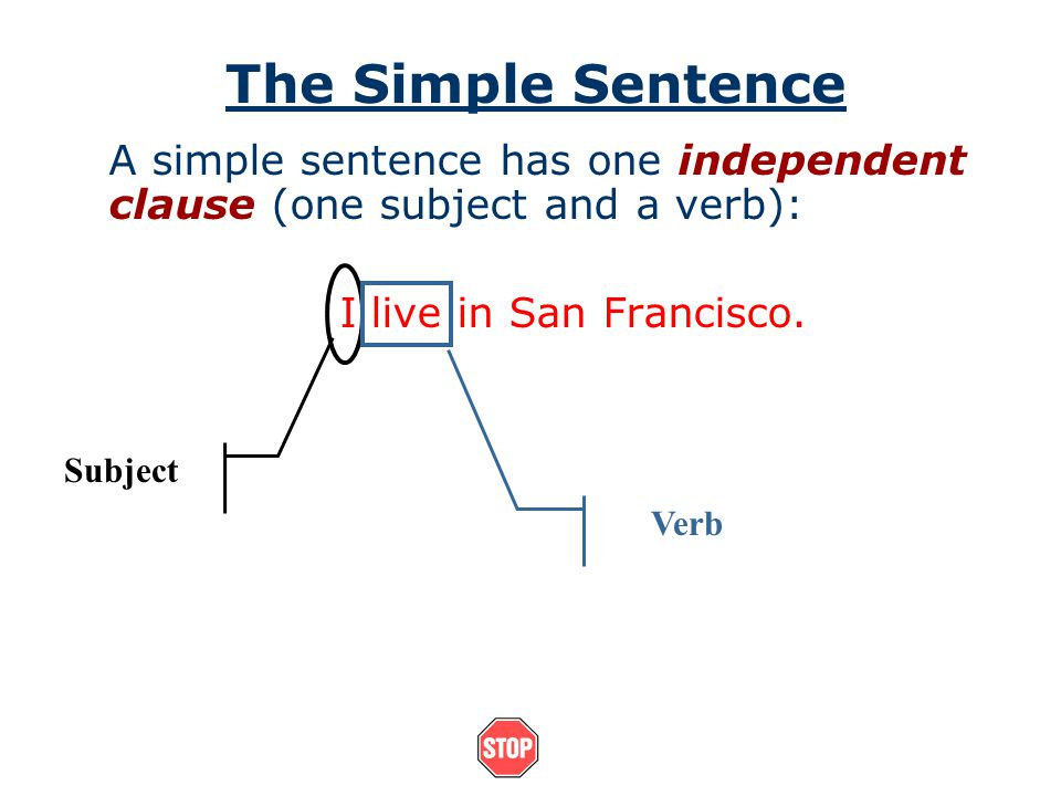How do you vary sentence structure? You will want to use a variety of sentence structures in your writing. There are three types of sentences we will