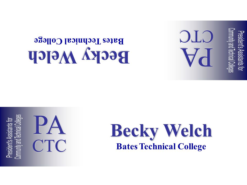 Becky Welch Bates Technical College Becky Welch Bates Technical College PACTC PACTC