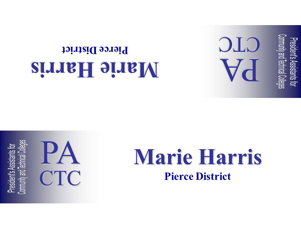 Marie Harris Pierce District Marie Harris Pierce District PACTC PACTC