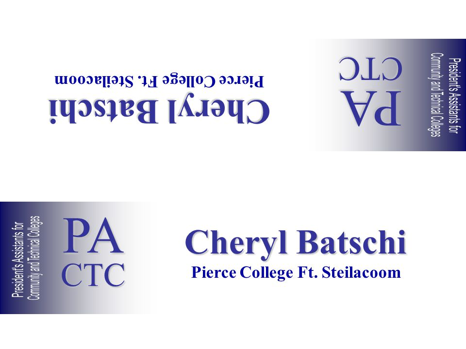 Cheryl Batschi Pierce College Ft. Steilacoom Cheryl Batschi Pierce College Ft.