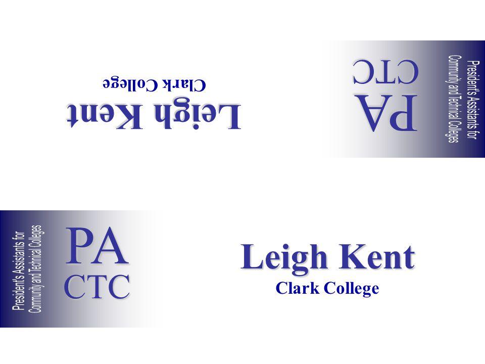 Leigh Kent Clark College Leigh Kent Clark College PACTC PACTC
