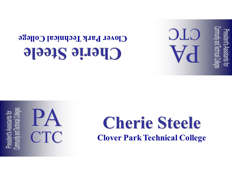 Cherie Steele Clover Park Technical College Cherie Steele Clover Park Technical College PACTC PACTC