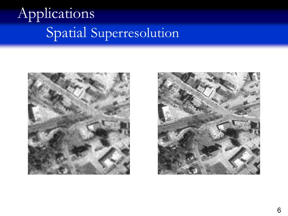 7 Applications Temporal Superresolution