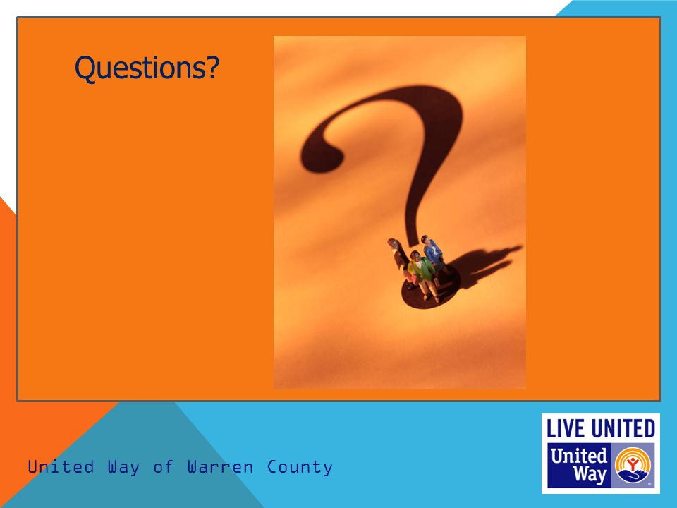 United Way of Warren County Questions