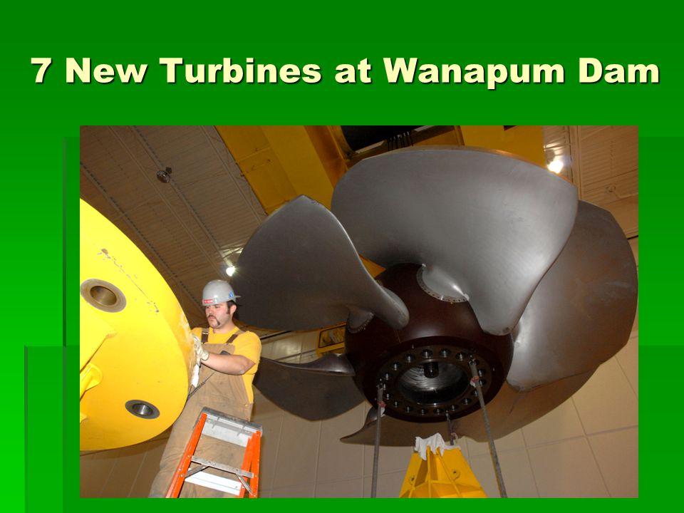 7 New Turbines at Wanapum Dam