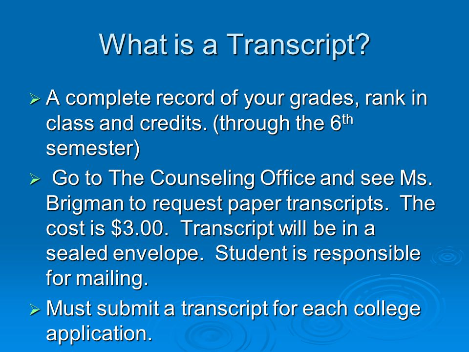 The Application Process  Online applications -preferred  CFNC.org applications for any NC School  Common Application  Paper Applications