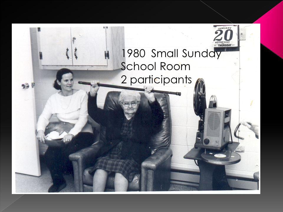1980 Small Sunday School Room 2 participants