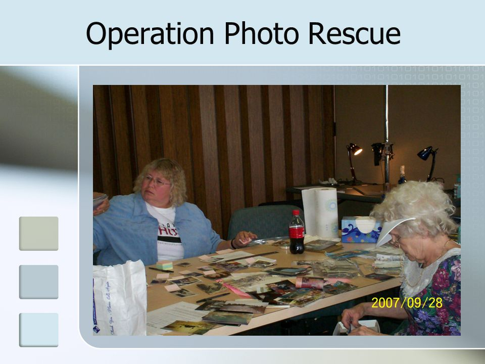 Operation Photo Rescue